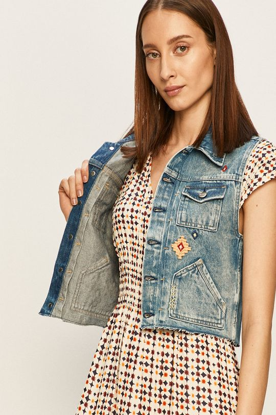 Pepe Jeans - Vesta de blugi Elsie Needle