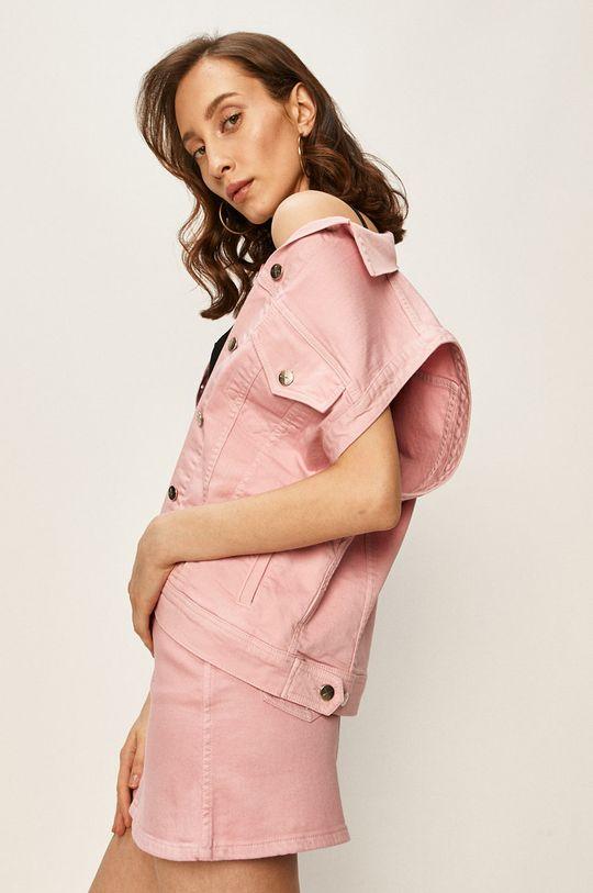 roz Pepe Jeans - Vesta de blugi Winona x Dua Lipa De femei