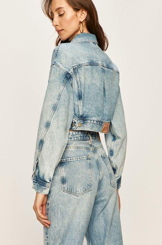 Pepe Jeans - Geaca jeans Rogue x Dua Lipa 100% Bumbac