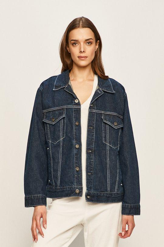 niebieski Levi's Made & Crafted - Kurtka jeansowa Damski