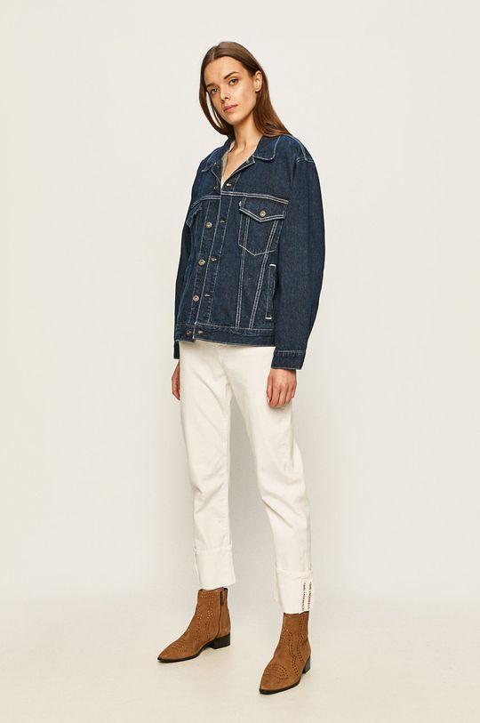 Levi's Made & Crafted - Kurtka jeansowa niebieski