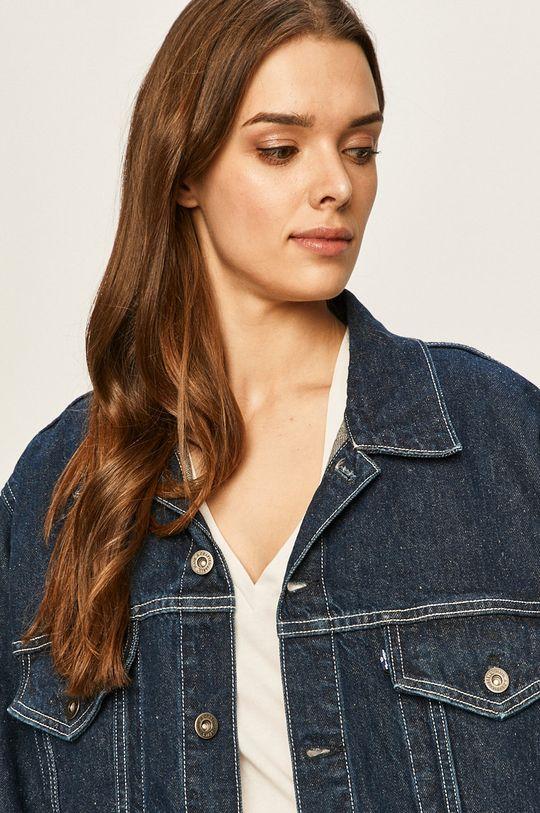 niebieski Levi's Made & Crafted - Kurtka jeansowa