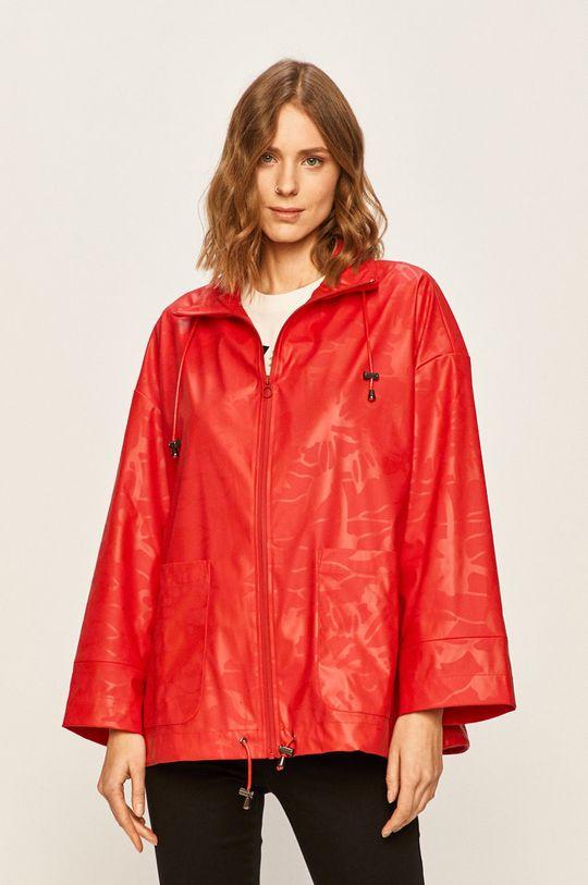 červená Desigual Sport - Nepremokavá bunda Dámsky