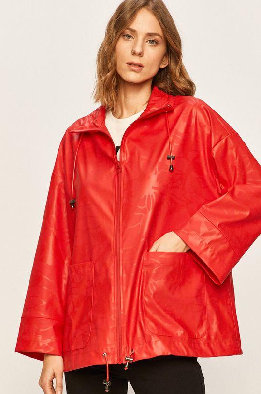 červená Desigual Sport - Nepremokavá bunda