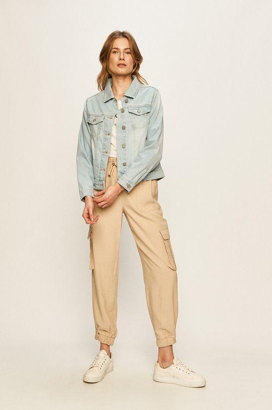 Brave Soul - Kurtka jeansowa niebieski