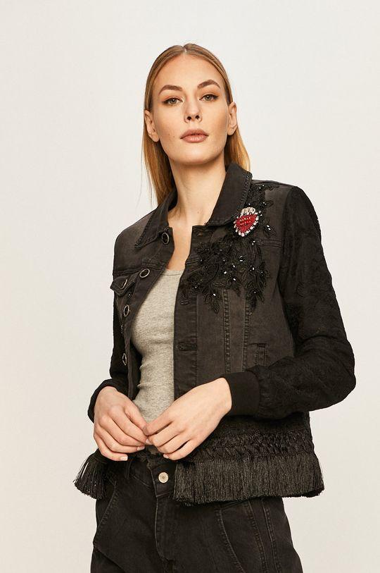 negru Desigual - Geaca jeans De femei