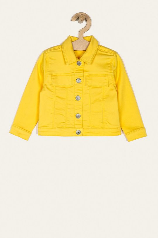 galben deschis Name it - Geaca copii 80-98 cm De fete