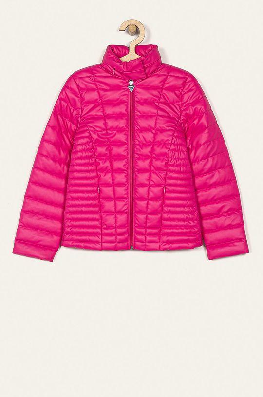 różowy Guess Jeans - Kurtka dziecięca 118-175 cm Dziewczęcy
