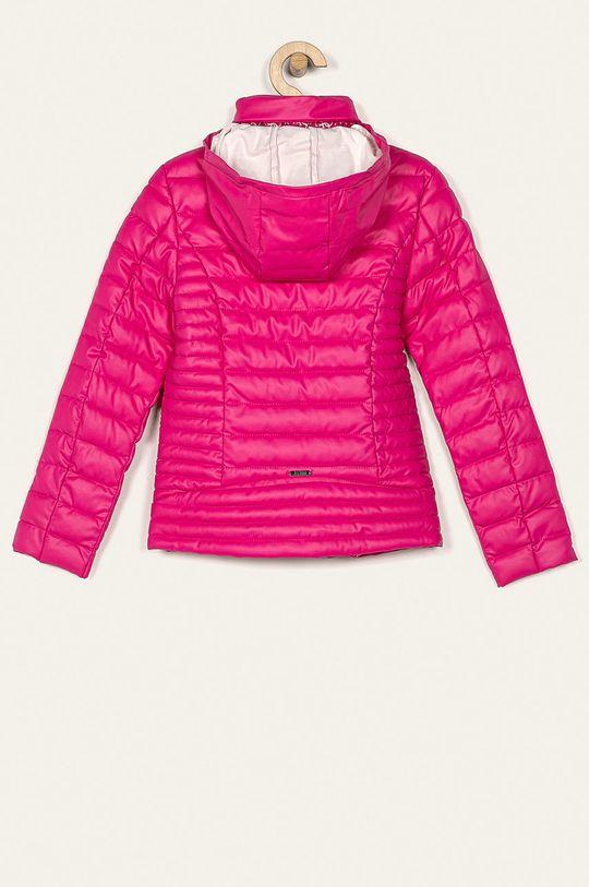 Guess Jeans - Kurtka dziecięca 118-175 cm różowy