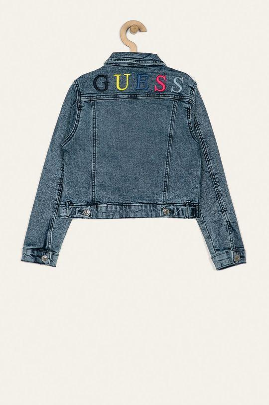 Guess Jeans - Dětská bunda 118-175 cm modrá