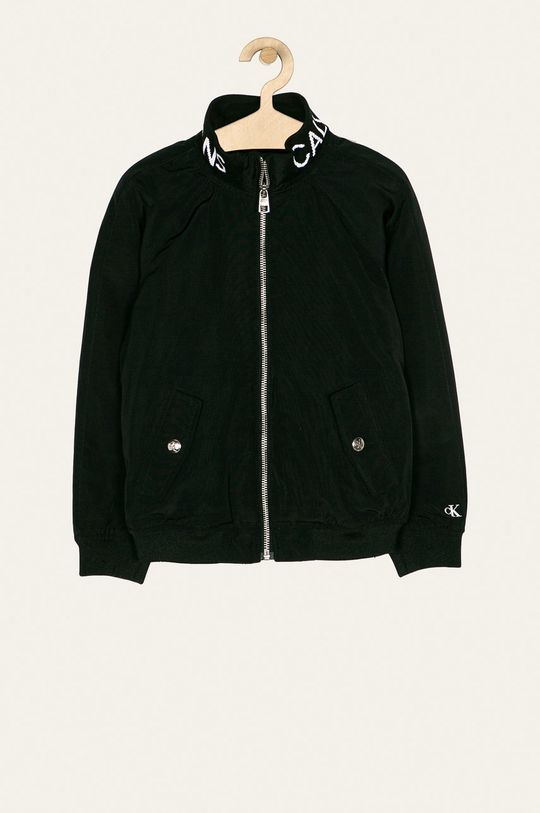 černá Calvin Klein Jeans - Bomber bunda Dívčí
