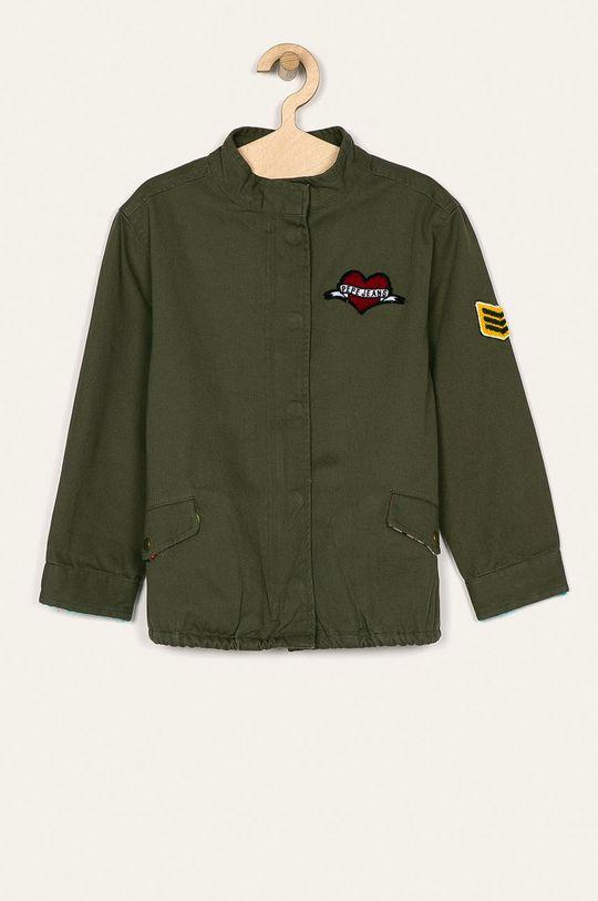 vojenská zelená Pepe Jeans - Detská bunda Lily 128-178 cm Dievčenský