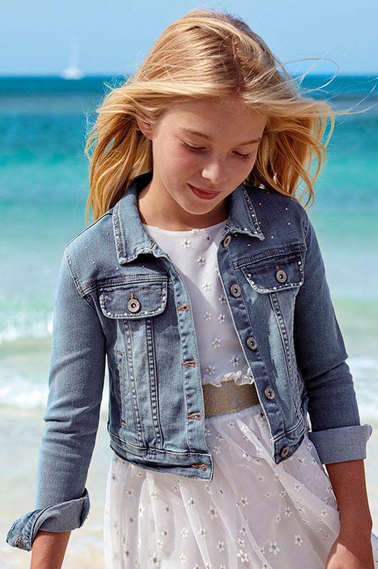 albastru deschis Mayoral - Geaca jeans 128-167 cm De fete