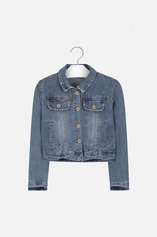Mayoral - Geaca jeans 128-167 cm albastru deschis