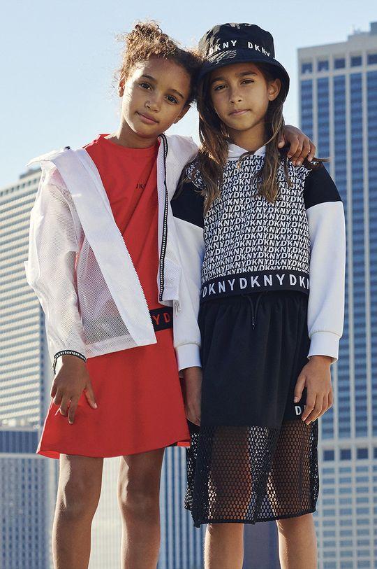 alb Dkny - Geaca copii 110-146 cm