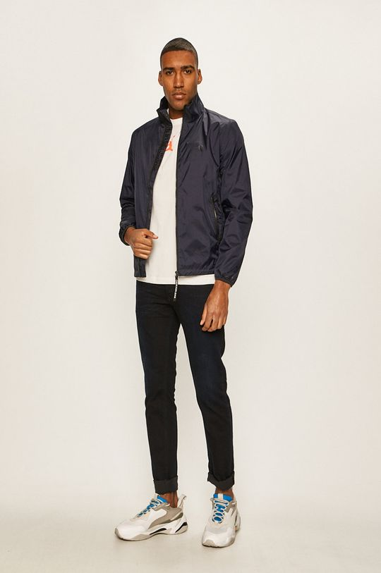 Calvin Klein Jeans - Geaca bleumarin
