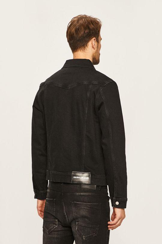 Calvin Klein Jeans - Geaca jeans 98% Bumbac, 2% Elastan