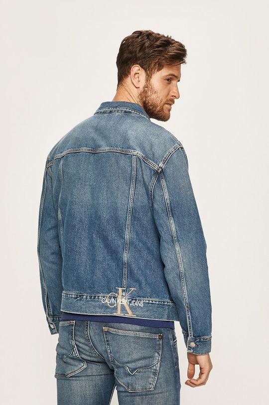 Calvin Klein Jeans - Džínová bunda Hlavní materiál: 100% Bavlna