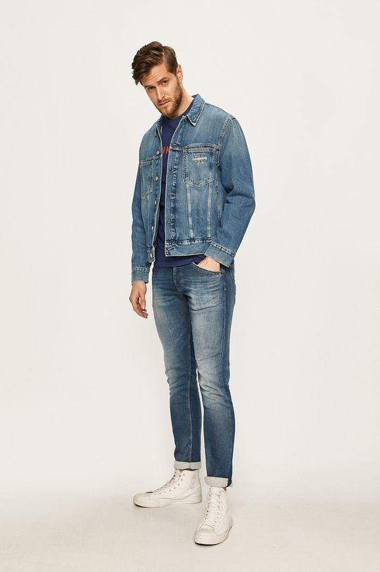 modrá Calvin Klein Jeans - Džínová bunda