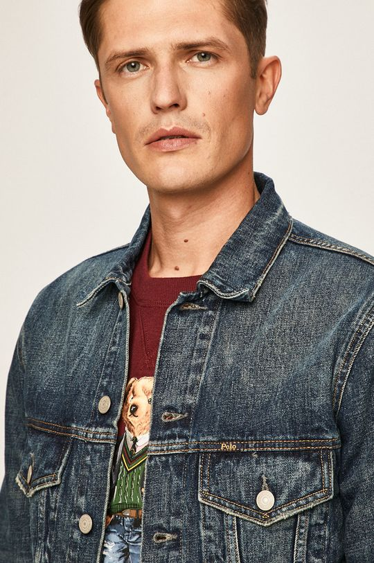 modrá Polo Ralph Lauren - Džínová bunda