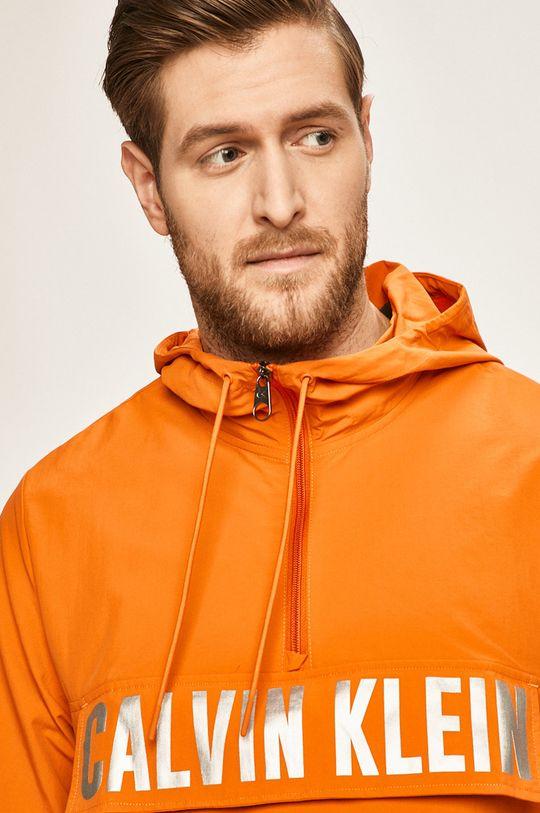 oranžová Calvin Klein Performance - Bunda