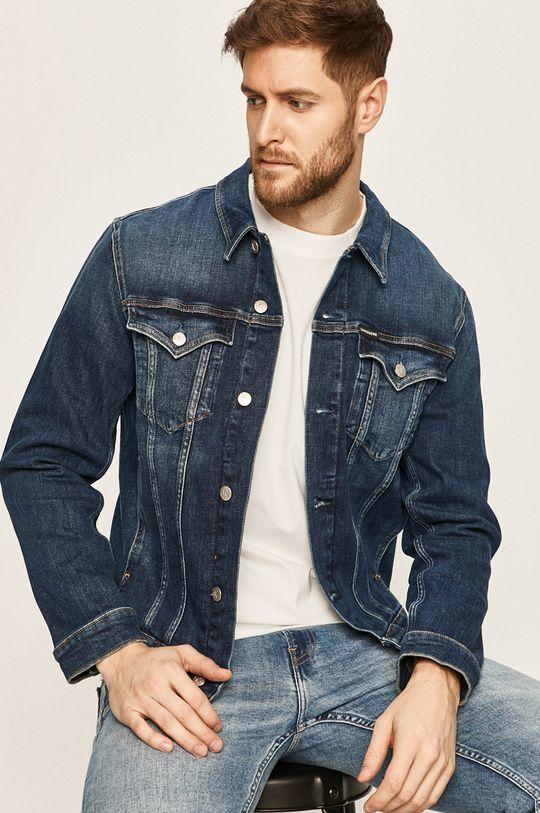 albastru Calvin Klein Jeans - Geaca jeans De bărbați