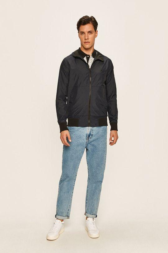 Calvin Klein Jeans - Bunda tmavomodrá