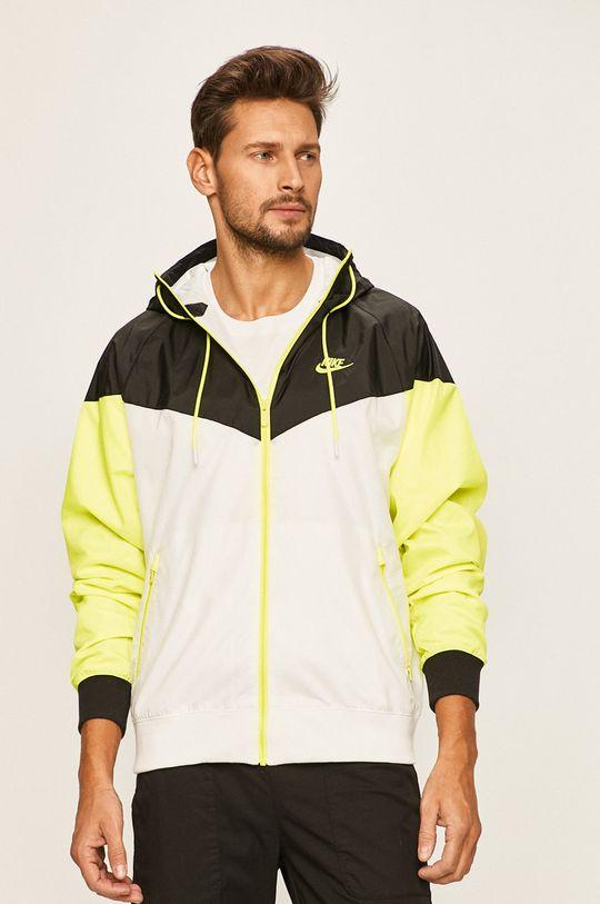 bílá Nike Sportswear - Bunda Pánský
