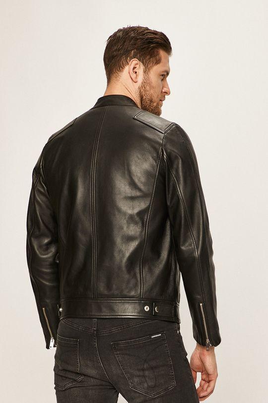 Diesel - Kožená bunda Podšívka: 100% Nylon Hlavní materiál: 100% Přírodní kůže