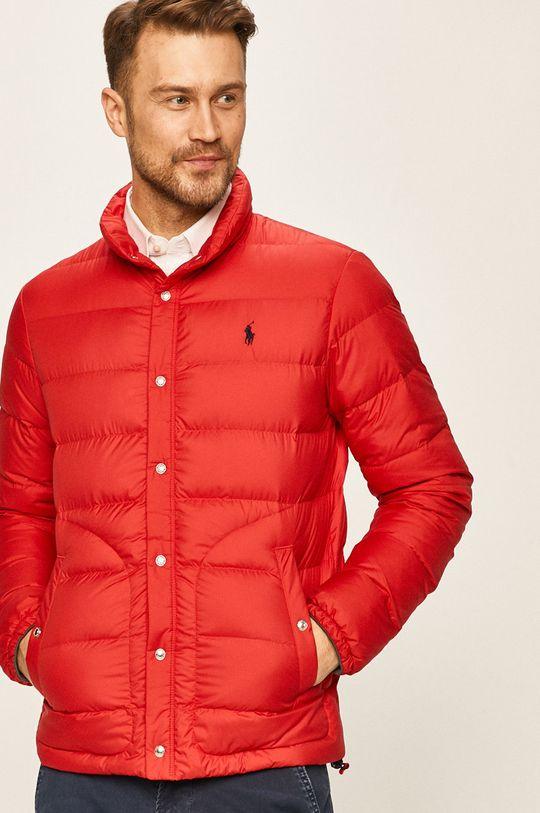 červená Polo Ralph Lauren - Péřová bunda Pánský
