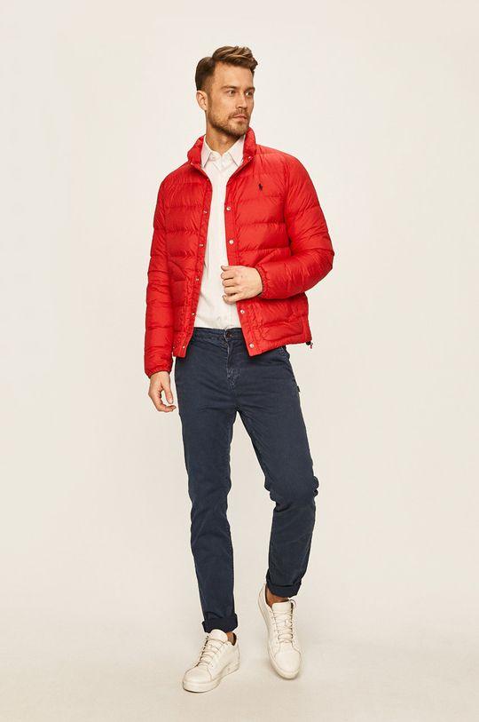 Polo Ralph Lauren - Péřová bunda červená