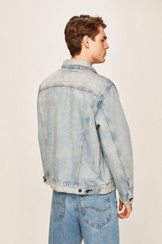 Levi's - Rifľová bunda  100% Bavlna