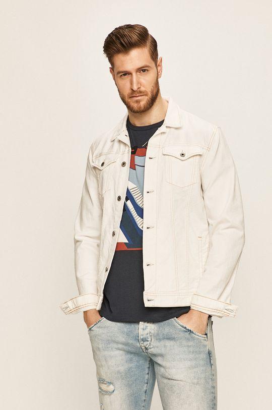 alb Pepe Jeans - Geaca jeans Belife De bărbați