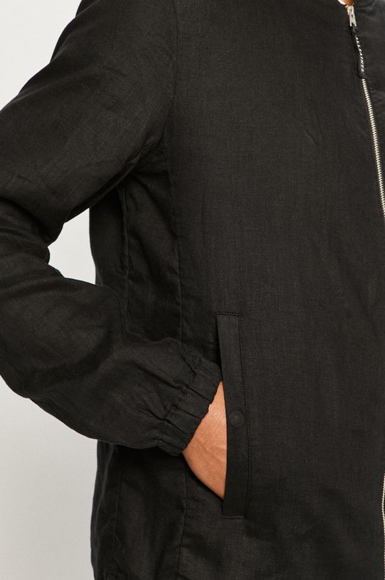 černá AllSaints - Bomber bunda Borra