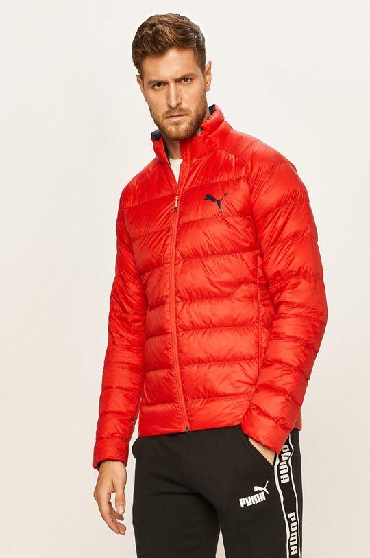 červená Puma - Péřová bunda Pánský