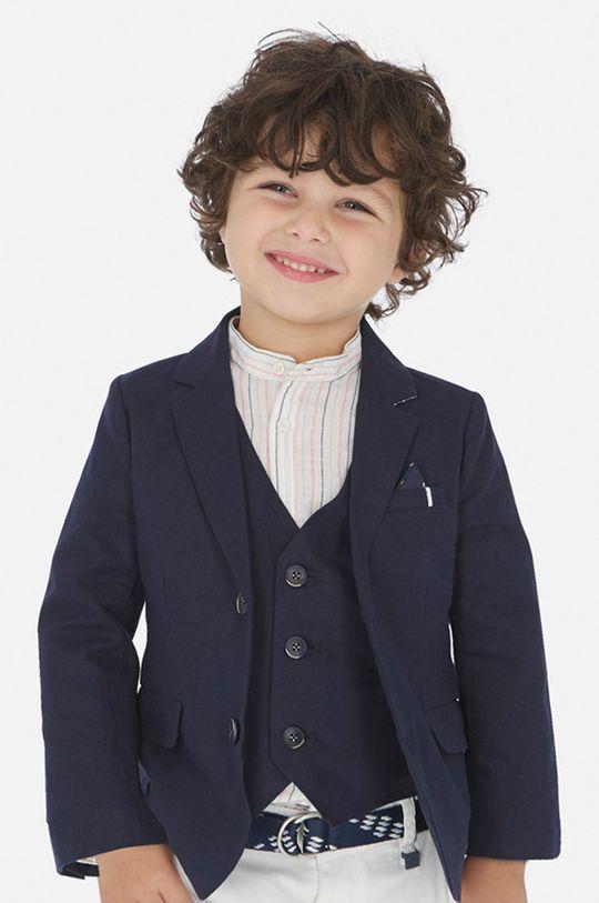 тъмносин Mayoral - Детско сако 92-134 cm Момче