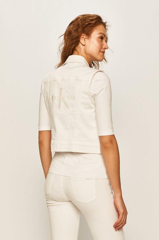 Calvin Klein Jeans - Vesta jeans 98% Bumbac, 2% Elastan