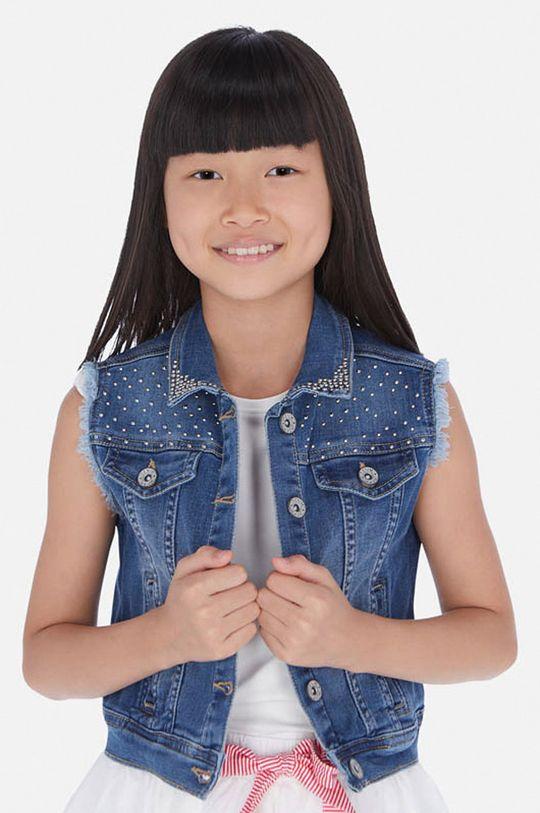 albastru Mayoral - Vesta copii 128-167 cm De fete