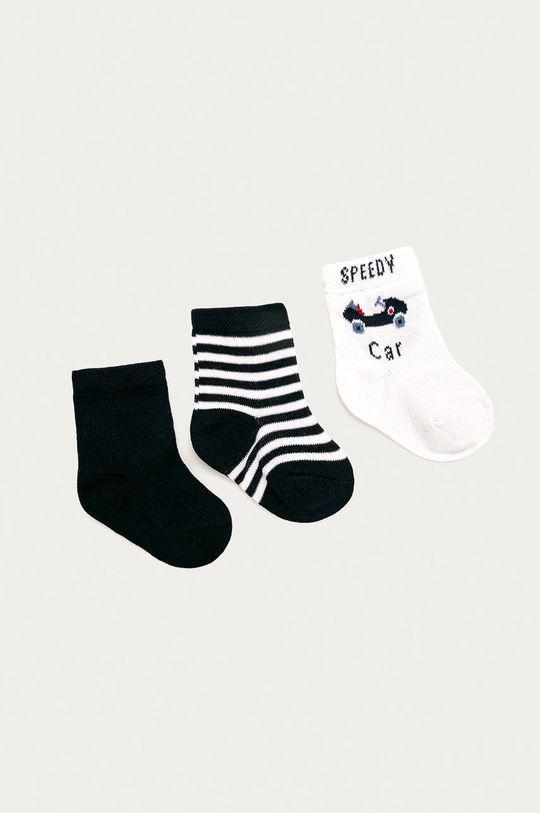 tmavomodrá OVS - Detské ponožky (3-pak) Chlapčenský