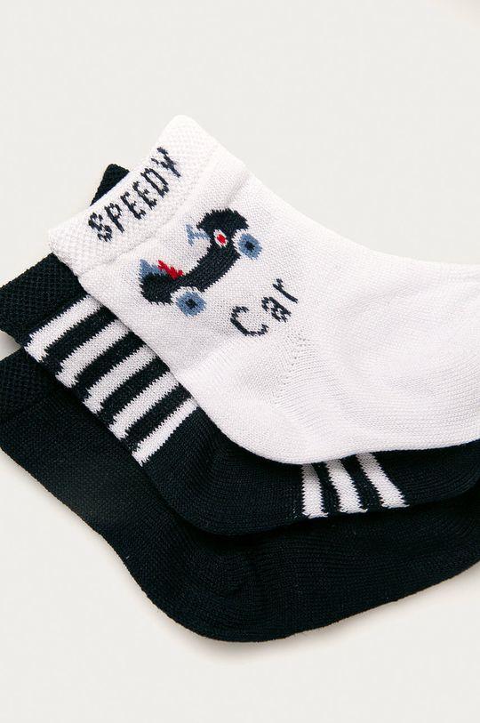 OVS - Detské ponožky (3-pak) tmavomodrá