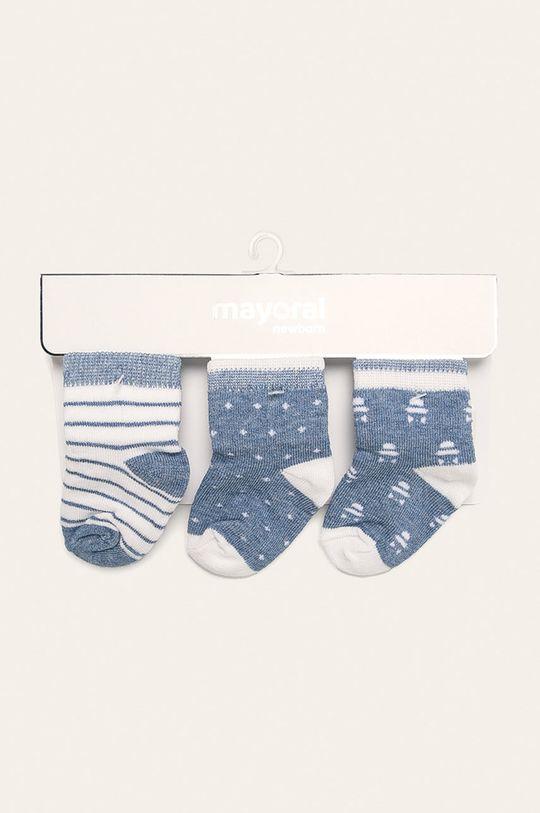 Mayoral - Dětské ponožky (3-pack) 70% Bavlna, 3% Elastan, 27% Polyamid