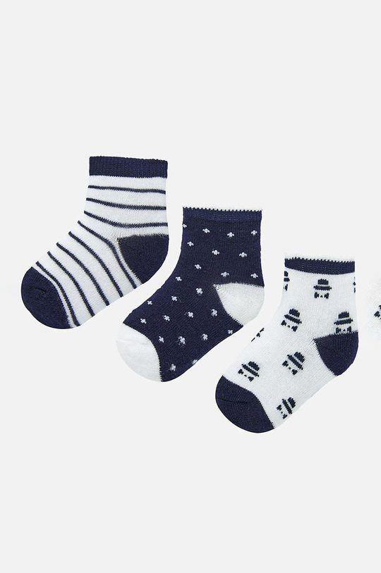 námořnická modř Mayoral - Dětské ponožky (3-pack) Chlapecký