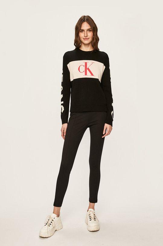 Calvin Klein Jeans - Colanti negru