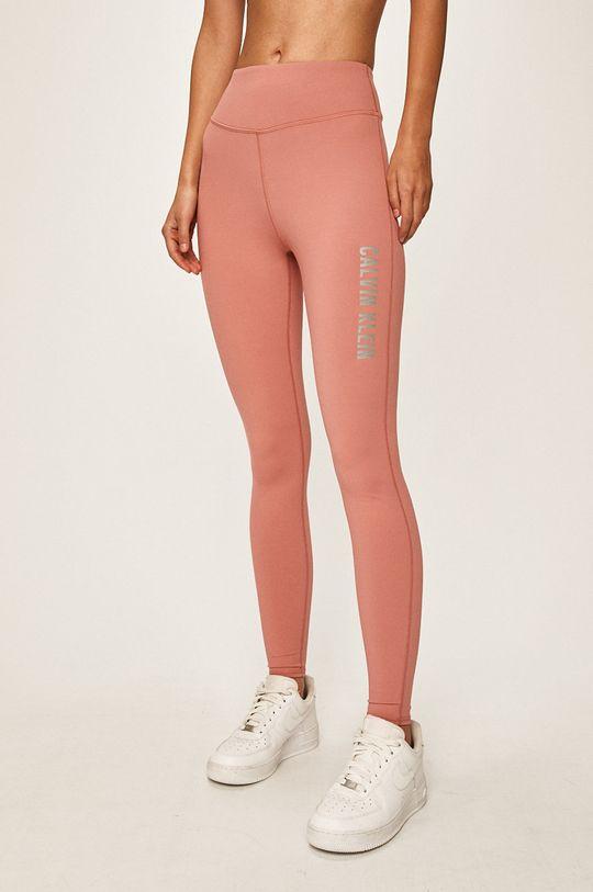 fialovo-růžová Calvin Klein Performance - Legíny Dámský