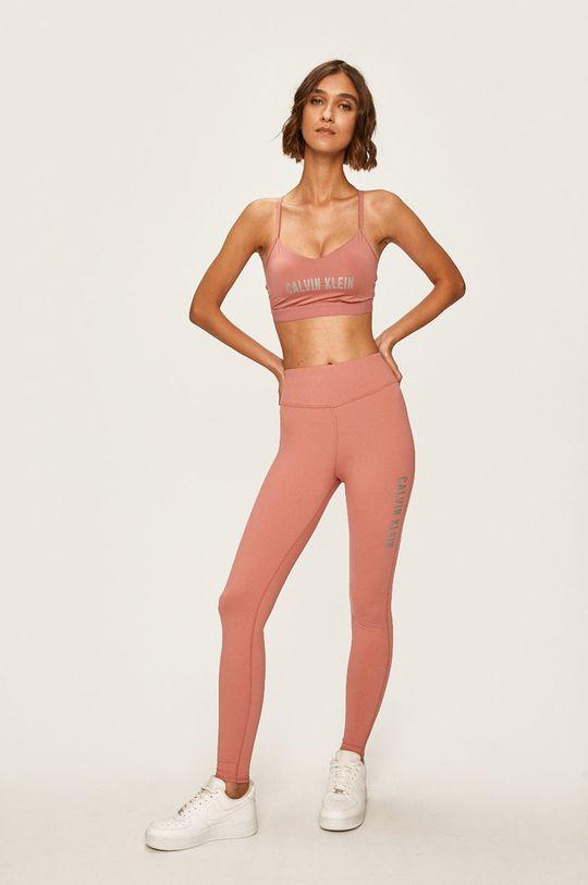 Calvin Klein Performance - Legíny fialovo-růžová