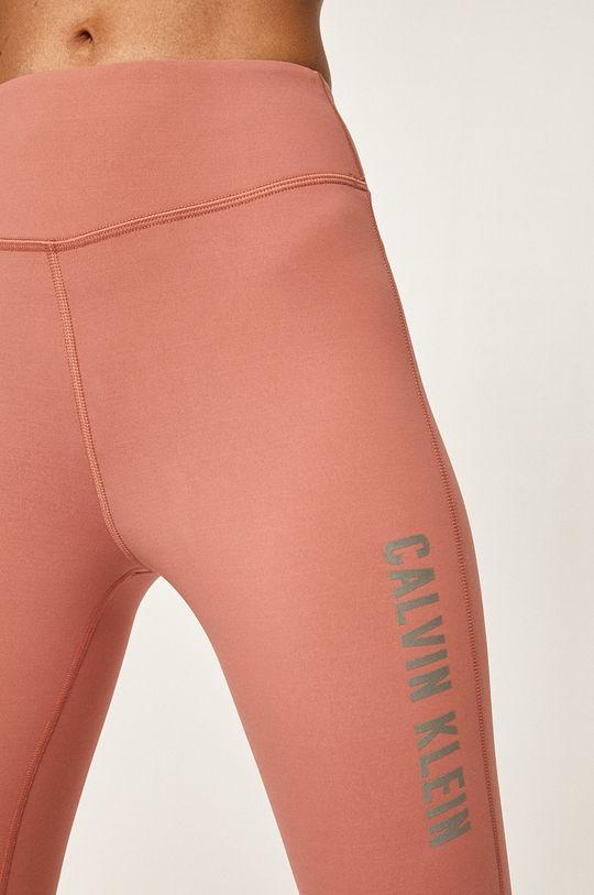 fialovo-růžová Calvin Klein Performance - Legíny