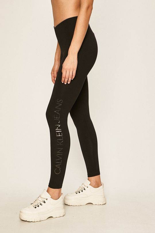 čierna Calvin Klein Jeans - Legíny Dámsky