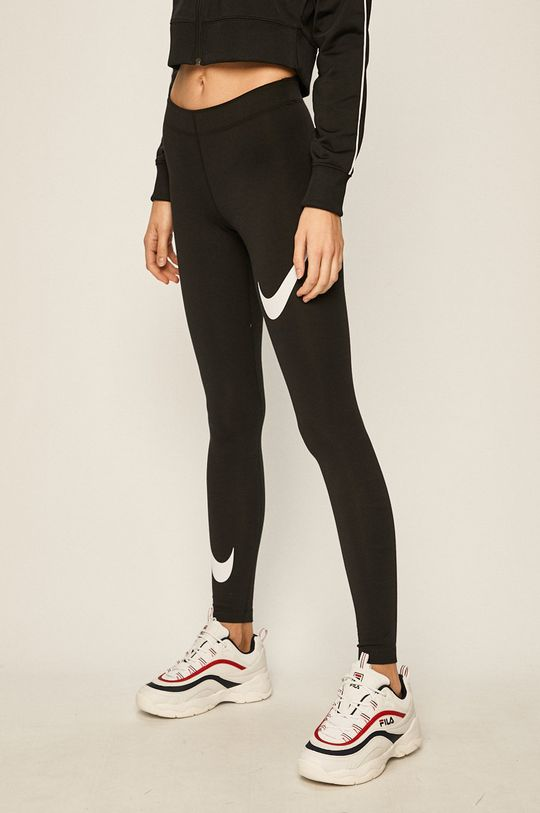 czarny Nike Sportswear - Legginsy Damski