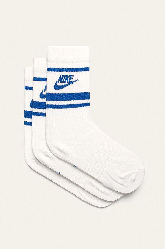 biela Nike Sportswear - Ponožky (3 pak) Dámsky