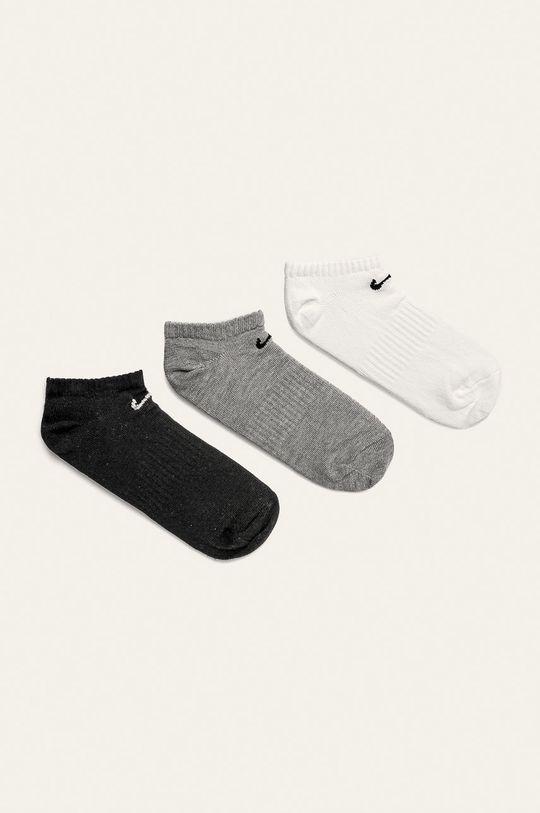 šedá Nike - Kotníkové ponožky (3-pack) Dámský